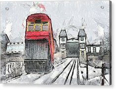Duquesne Incline Acrylic Print by Matt Matthews