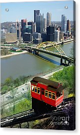 Duquesne Incline Pittsburgh Pa Acrylic Print