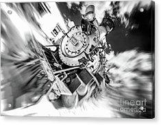 Durango Silverton Train Arrives Acrylic Print