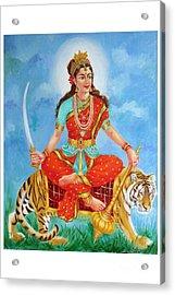 Durga Devi  Acrylic Print by Kalpana Talpade Ranadive