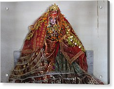 Durga Devi, Near Kainchi Acrylic Print by Jennifer Mazzucco