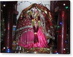 Durga Temple Near Kainchi Acrylic Print by Jennifer Mazzucco