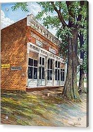 Durham Mercantile  Sold Acrylic Print