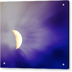 Aries Moon During The Total Lunar Eclipse 3 Acrylic Print