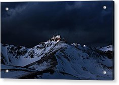 Dusk At Loveland Pass Acrylic Print