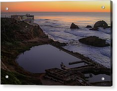 Dusk At Sutro Baths Acrylic Print