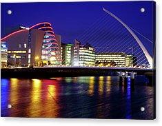 Dusk In Dublin Acrylic Print