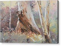 Dusk In The Bush Acrylic Print