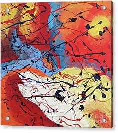 Dusk Acrylic Print by Nickola McCoy-Snell