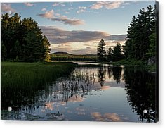 Dusk On The Water Acrylic Print by Brent L Ander