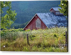 Acrylic Print featuring the photograph Dusk View by Susan Cole Kelly