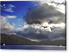 Dutch Harbor Acrylic Print by Wes Shinn
