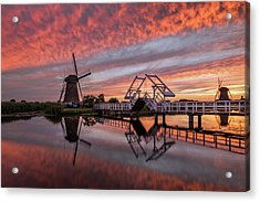 dutch Inferno Acrylic Print