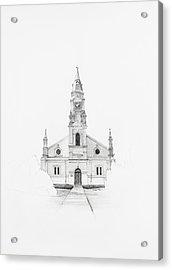 Dutch Reformed Church Pearston Acrylic Print