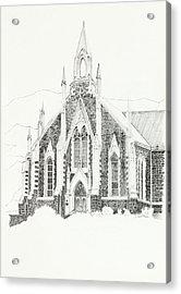Dutch Reformed Church Piketberg Acrylic Print