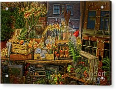 Dutch Shop Acrylic Print