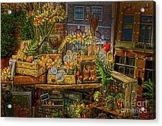 Dutch Shop Acrylic Print
