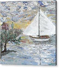 Dutch Shore Acrylic Print