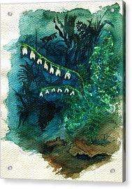 Dutchman's Breeches Acrylic Print by Diana Ludwig