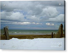 Duxbury Beach 3rd Crossover Acrylic Print
