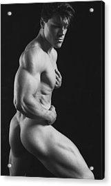 Dwain Leland 7 Acrylic Print by Thomas Mitchell