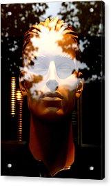 Dwayne Acrylic Print by Jez C Self