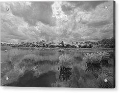 Dyer Pond Acrylic Print by Jon Glaser