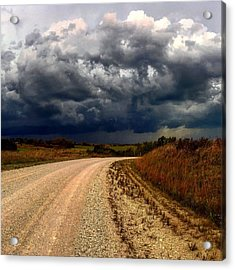 Dying Tornadic Supercell Acrylic Print