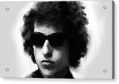 Dylan Black N White  Acrylic Print