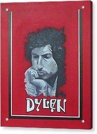 Dylan Acrylic Print by Jimmy  Ovadia