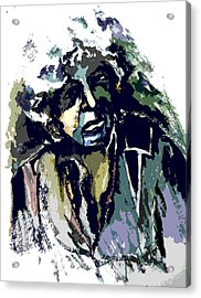 Dylan Acrylic Print by Mindy Newman