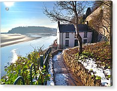 Dylan Thomas Boathouse 1 Acrylic Print