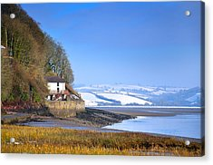 Dylan Thomas Boathouse 3 Acrylic Print