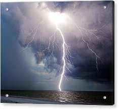 Dynamic Electricity Acrylic Print by Dan Wells