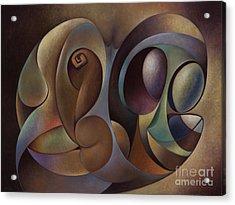 Dynamic Series #1 Acrylic Print by Ricardo Chavez-Mendez