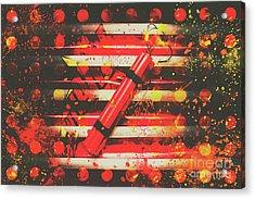 Dynamite Artwork Acrylic Print