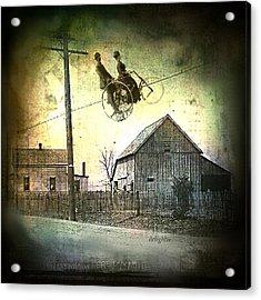 Dynamite Barn Acrylic Print