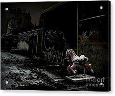 Dystopian Playground 1 Acrylic Print by James Aiken
