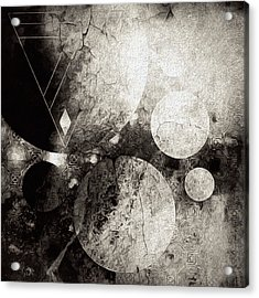 Dystopian Space Acrylic Print by Susan Maxwell Schmidt