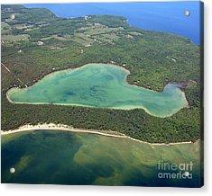 E-002 Europe Lake Door County Acrylic Print