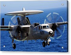 E-2c Hawkeye Us Navy Acrylic Print by Celestial Images