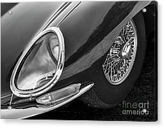 Acrylic Print featuring the photograph E-type Monotone by Dennis Hedberg