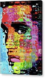 E0016 Elvis Presley By Nixo Acrylic Print
