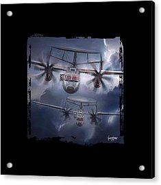 E2d Hawkeye Acrylic Print