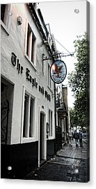 Eagle And Child Pub - Oxford Acrylic Print by Stephen Stookey