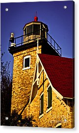 Eagle Bluff Lighthouse Of Door County Acrylic Print