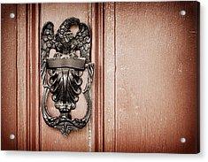 Eagle Door Knocker Acrylic Print