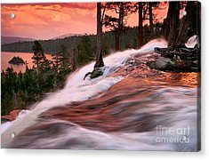 Eagle Falls Evening Acrylic Print by Buck Forester