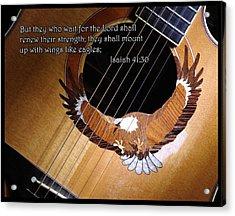 Eagle Guitar Acrylic Print