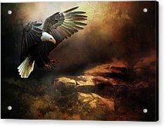 Eagle Is Landing Acrylic Print
